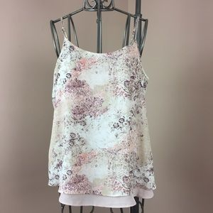 Maurices nude and coral large camisole